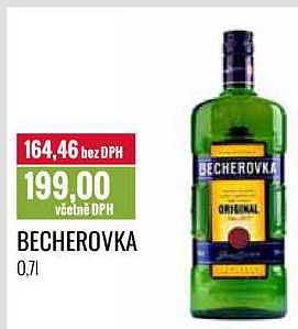 Becherovka Ratio
