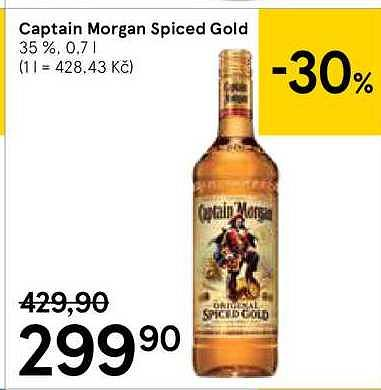 Captain morgan Tesco