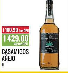 Casamigos aňejo Ratio