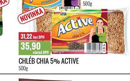 Chléb chia active Ratio