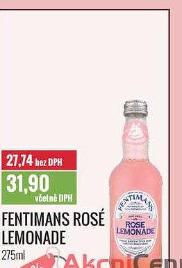 Fentimans rosé lemonade Ratio