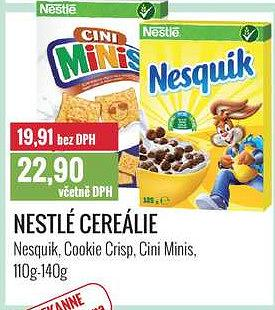 Nestlé cereálie 110-140 Ratio