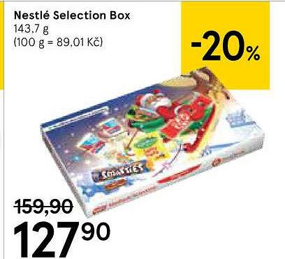 Nestlé selection box, 143,7 Tesco