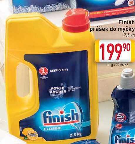 Finish prášek Billa