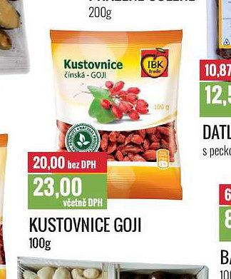 Kustovnice goji Ratio
