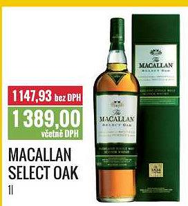 Macallan select Ratio