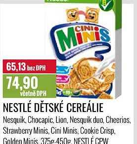 Nestle cereálie 375-450 Ratio