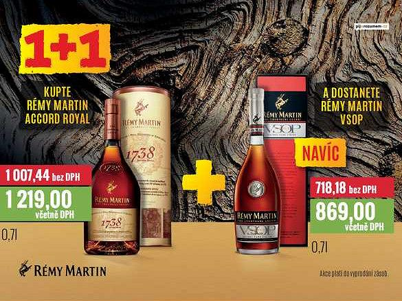 Rémy martin Ratio
