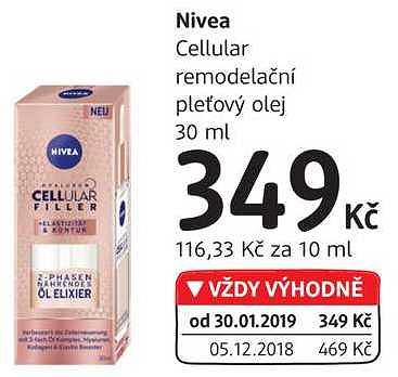 Nivea cellular DM drogerie