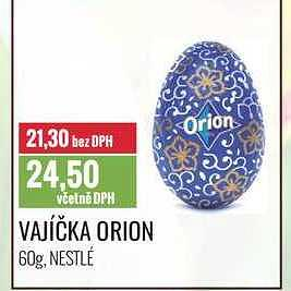 Orion vajíčko Ratio