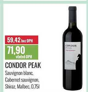 Condor peak 0,75 Ratio