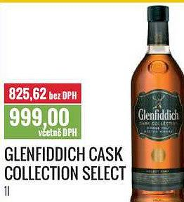 Glenfiddich cask collection select Ratio