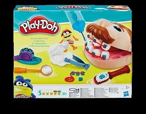 Play-Doh zubař drill' fill Bambule
