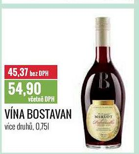 Vína bostavan 0,75 Ratio