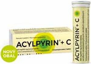 Acylpyrin® mg/200 šumivé tablety, šumivých tablet Pharma Point