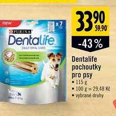 Dentalife pochoutky psy, Albert Supermarket