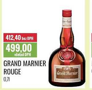 Grand marnier rouge Ratio