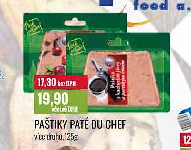 Paštiky paté chef Ratio
