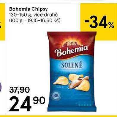 Bohemia chips Tesco