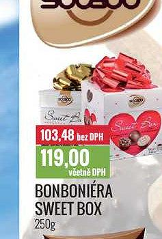 Bonboniéra sweet 250G Ratio