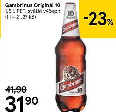 Gambrinus Tesco