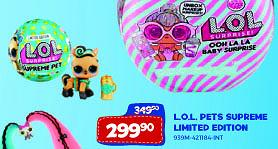 L.o.l. pets supreme limited edition Sparkys