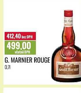 Marnier rouge Ratio