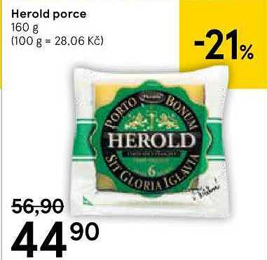 Herold porce, Tesco