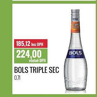 Bols triple Ratio