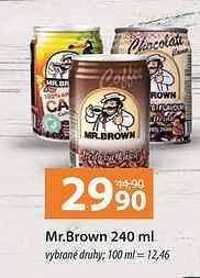 Brown ledová káva 250Ml Terno