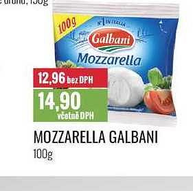 Galbani mozzarella Ratio