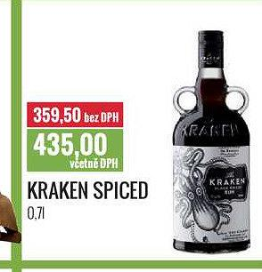 Kraken spiced Ratio