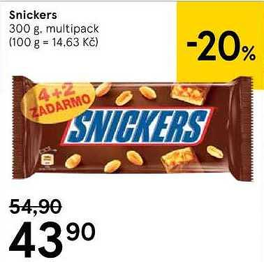 Snickers, Tesco